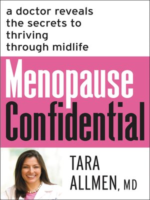 cover image of Menopause Confidential