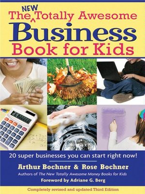 cover image of The New Totally Awesome Business Book for Kids