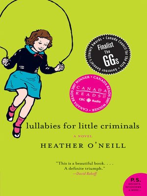 cover image of Lullabies for Little Criminals