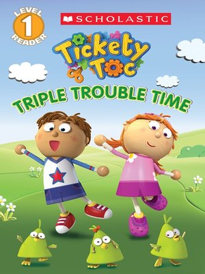 cover image of Triple Trouble Time