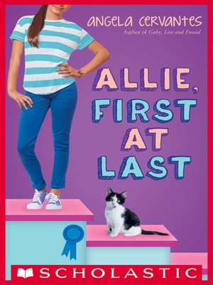 cover image of Allie, First at Last