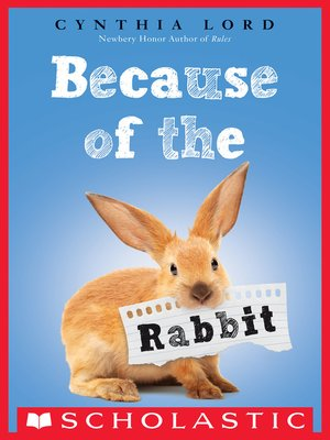 cover image of Because of the Rabbit