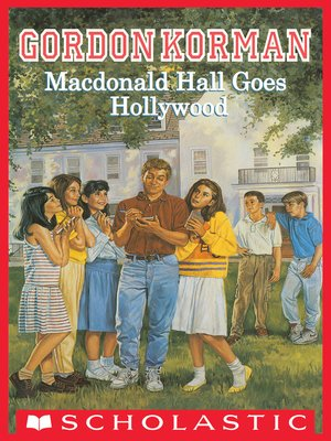 cover image of MacDonald Hall Goes Hollywood