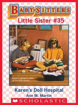 cover image of Karen's Doll Hospital