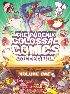 cover image of The Phoenix Colossal Comics Collection, Volume 1