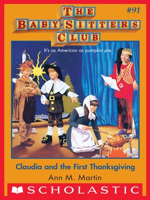 cover image of Claudia and the First Thanksgiving