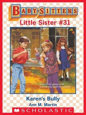 cover image of Karen's Bully