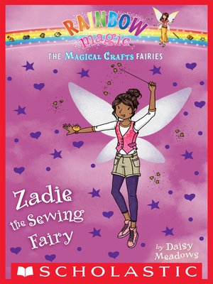 cover image of Zadie the Sewing Fairy