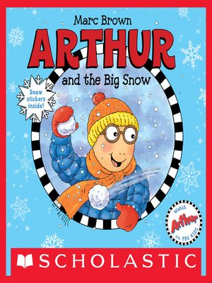 cover image of Arthur and the Big Snow