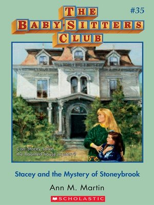 cover image of Stacey and the Mystery of Stoneybrook