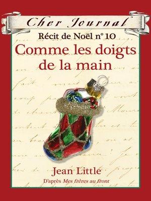 cover image of Comme les doigts de la main
