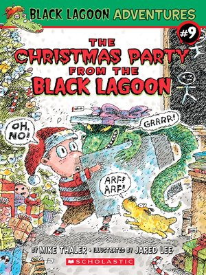 cover image of The Christmas Party from the Black Lagoon