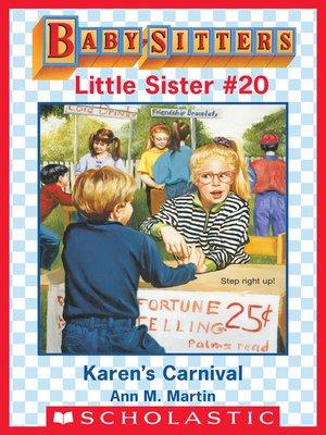 cover image of Karen's Carnival