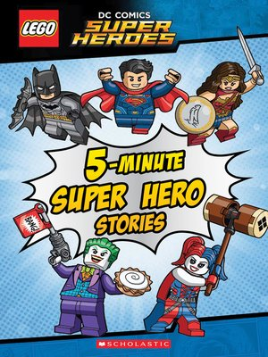 cover image of 5-Minute Super Hero Stories