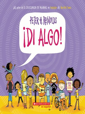 cover image of ¡Di Algo!