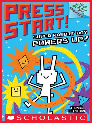 cover image of Super Rabbit Boy Powers Up!