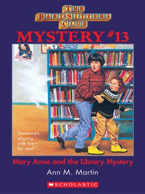 cover image of Mary Anne and the Library Mystery