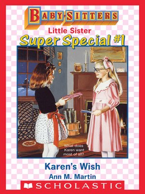 cover image of Karen's Wish