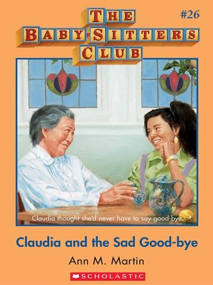 cover image of Claudia and the Sad Good-bye