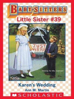 cover image of Karen's Wedding