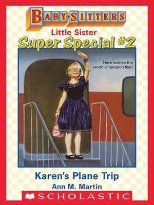 cover image of Karen's Plane Trip