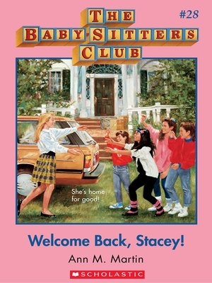 cover image of Welcome Back, Stacey!