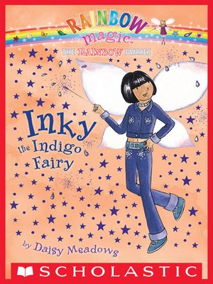 cover image of Inky the Indigo Fairy