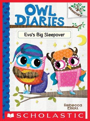 cover image of Eva's Big Sleepover