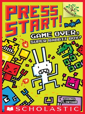 cover image of Game Over, Super Rabbit Boy!