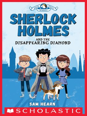cover image of Sherlock Holmes and the Disappearing Diamond