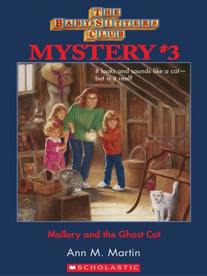 cover image of Mallory and the Ghost Cat