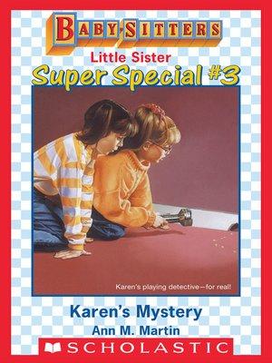 cover image of Karen's Mystery