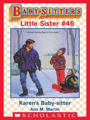 cover image of Karen's Baby-Sitter