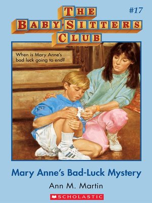cover image of Mary Anne's Bad-Luck Mystery