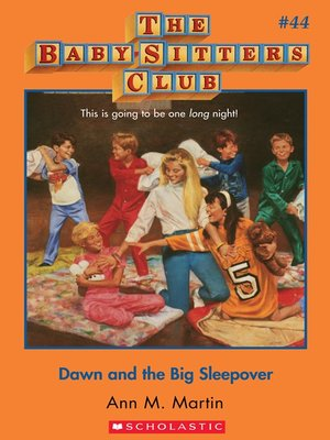 cover image of Dawn and the Big Sleepover