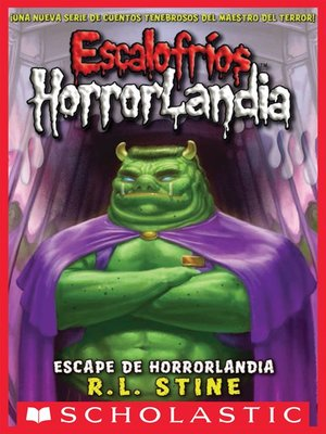 cover image of Escape de Horrorlandia