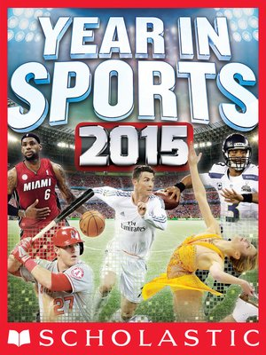 cover image of Scholastic Year in Sports 2015