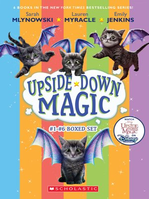 cover image of The Upside-Down Magic Collection