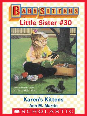 cover image of Karen's Kittens