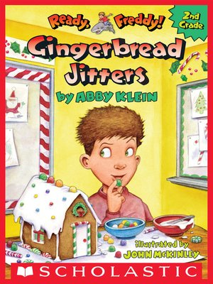 cover image of Gingerbread Jitters