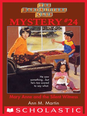 cover image of Mary Anne and the Silent Witness