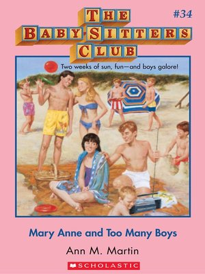 cover image of Mary Anne and Too Many Boys