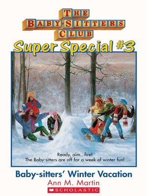 cover image of Baby-Sitters' Winter Vacation