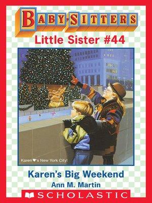 cover image of Karen's Big Weekend