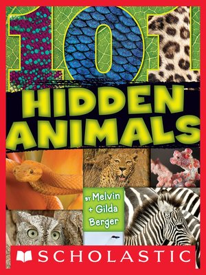 cover image of 101 Hidden Animals