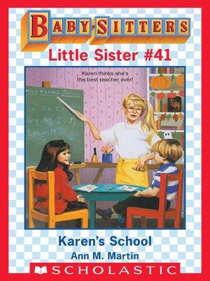 cover image of Karen's School