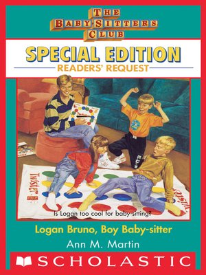 cover image of Logan Bruno, Boy Baby-sitter