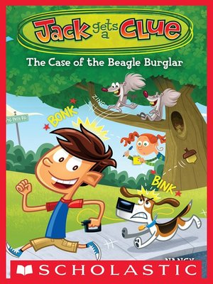 cover image of The Case of the Beagle Burglar
