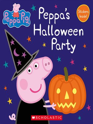 cover image of Peppa's Halloween Party