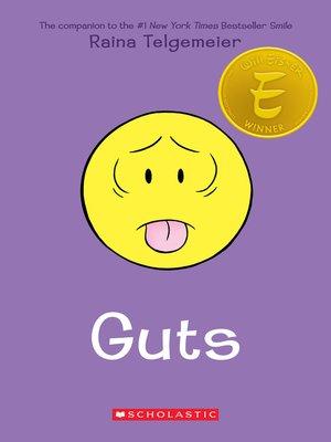 Guts by Raina Telgemeier Book Cover
